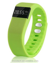 hot!!!!OLED screen , waterproof , multi-function health care smart watch with calorie,pedometer,sleep monitor