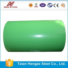 PPGI steel coil Prepainted galvanized Steel Coil / Building construction From Shandong Manufacturer