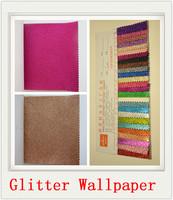 household wallcovering wallpaper zhejiang manufacturer wallpaper 3d luxury glitter fabric
