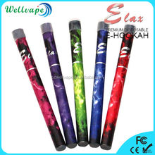 Colorful pen style 500 puffs disposable ak 47 hookah
