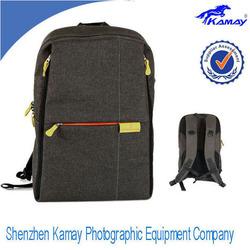 2014 new fashion adjustable waterproof nylon camera backpack crumpler camera bag