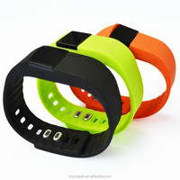 2015 ! the lastest bluetooth bracelet smart watch TW64 with waterproof and pedometer
