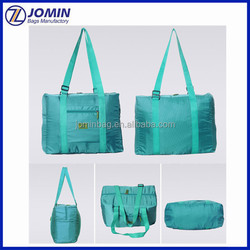 large capacity flight folding bag carry on trolley luggage make easy comfortable