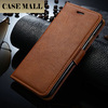Hot sale mobile accessories smooth leather cases cover for iphone6 plus