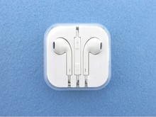 Factory price colorful earphone for iphone5 with mic and volume control