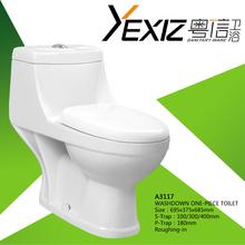 A3117 ceramic toilet bowl china supplier washdown cheap one piece toilet bowl price