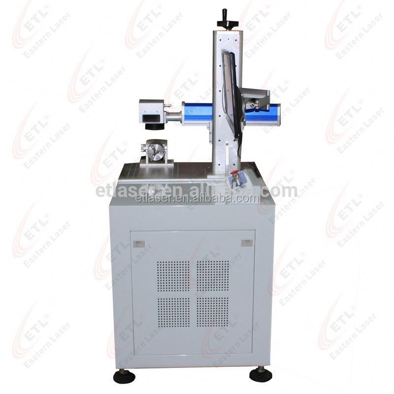 10w Metal Etching Machine Mini Yag Laser Marking Machine