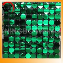 Fashion moving red sequin wall Christmas decoration sale