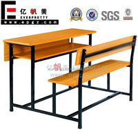 Combo School Desk and Chair, School Furniture, Used School Furniture for Sale
