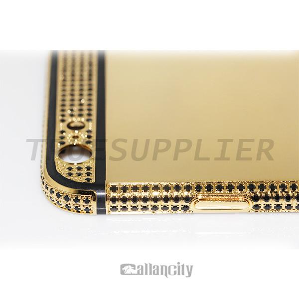 Luxury 24 Carat Gold Housing With Black Diamond Crystal