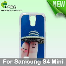 make your own Sublimation hard PC cover case for Samsung S4 MINI