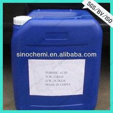 2014 Hot sale 85% Formic acid for Textile Industry