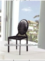 modern style and pvc covered dining chair