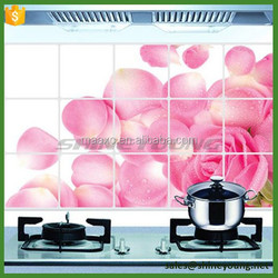 Vinyl removable Wall Sticker,Kitchen wall tile sticker,home decor wall stickers