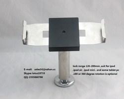 anti-theft vesa rotating stand pos table lock