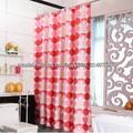 A prueba de agua de cortina de ducha/a prueba de agua de cortina/rojo cortina de la ducha