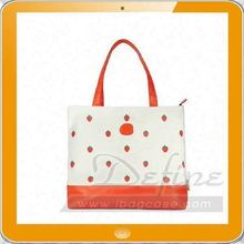 Folding fruit tote bag