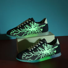 new style fashion men light casual shoes sneakers sample for male, adults fluorescence light sport shoes sneakers for men good