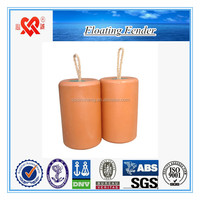 China Professional manufacture yatch ship/dock EVA foam fender marine floating buoy for sale