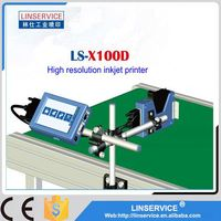 glass bottle high resolution date printing machine plastic bag inkjet coder printer