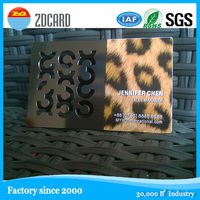 Gloosy finished black plating metal card with silkscreen text and QR code