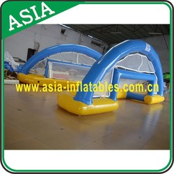 Cheap Rental Water Polo Field Inflatable,New Finished Inflatable Pool Goal