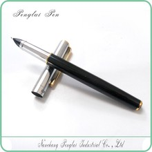 New Classic Series Black and Gold Metal advertising african antique metal fountain pen