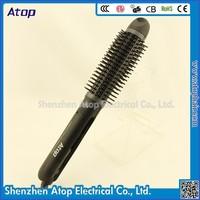 Professional Korean Hair Flat Iron Brush 3 In 1 Hair Straightener With Teeth