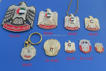 uae wholesale 44th national day lapel pin / car badge emblem / keychains / necklace