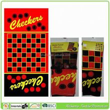 custom weight funny checkers beach towel game factory