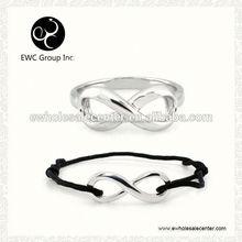 eternal heart silver jewelry sets
