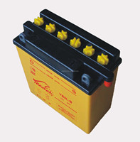 dry Motorcycle battery 12V5Ah, YB5L-B for India