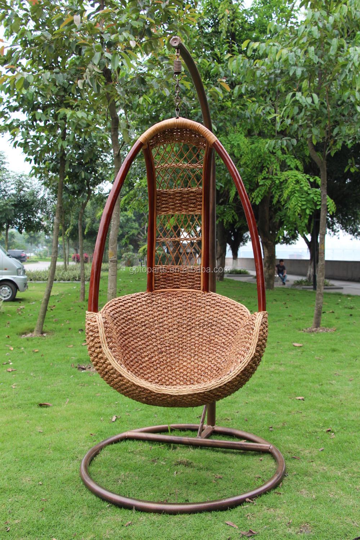 Designer Cane Hanging Outdoor Garden Swing Chair Hammock Wicker ...