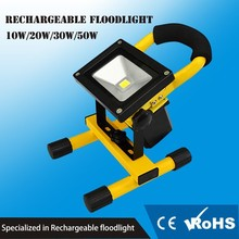 10W Rechargeable Portable Work Lights LED Floodlight cordless Rotatable Lamp