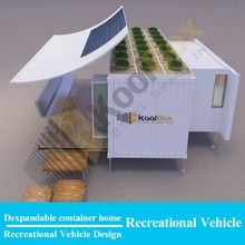 modern living 20ft container house design,dexpandable luxury container house with wheels