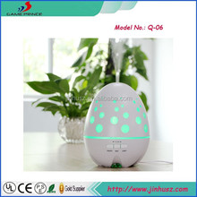ultrasonic aroma diffuser made of ABS+PP suitable for any essential oil