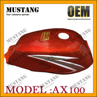 Chinese Manufactory Motorcycle Fuel Tank Cover AX100 For Suzuki