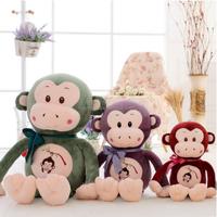 Similar Products Hot New Plush Toy China Wholesale plush stripe monkey with t-shirt,Plush Stuffed Monkey Toy,plush monkey toy
