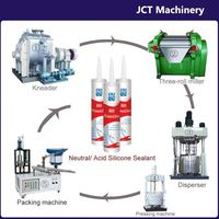 machine for making acetic silicone anti-fungus