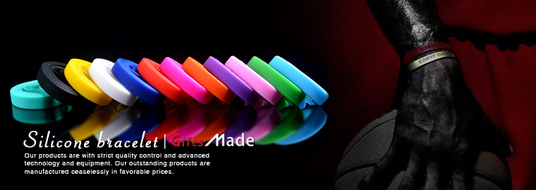 Vend en gros bracelet en silicone personnalisé en vrac à bon prix