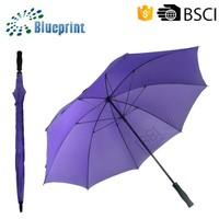 the wholesale rain purple large umbrella factory