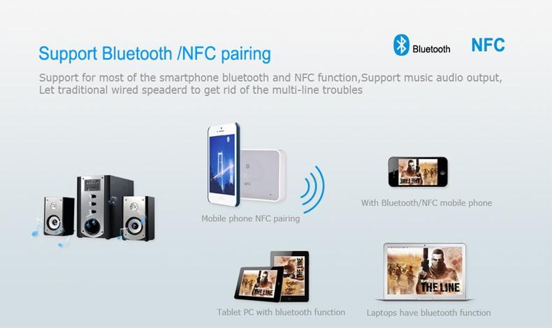 NFC bluetooth audio receiver 01