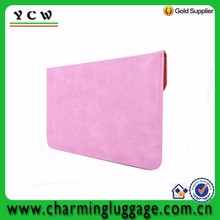 Fashion design women computer bag PU leather laptop sleeve