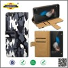 Newest product Camouflage PU Leather Wallet Leather Case Cellphone case for Huawei P8 lite ---------Laudtec