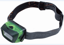 HI110 black+green plastic camping 5 led with strap rechargeable led headlamp