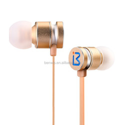 Hot selling BENWIS EPM-200 In-ear Metal Earphones for IOS and Android Device