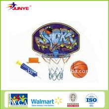 Junye plastic rings for kids and board kids basketball