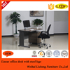Steel Computer Desk with MDF Top, Office Work Station