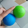 New design squeaky ball rubber dog toys with oil proof