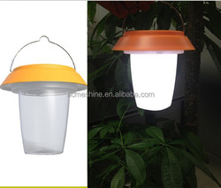 Dynamo and Solar powered camping light 1LED super bright Solar dynamo lamp with USB cable